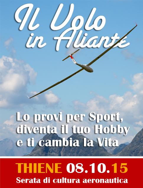 Corso Gratuito Volo Aliante Thiene Home