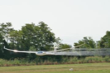 Glider Low Pass Planeur Sailplane Segelflugzeug